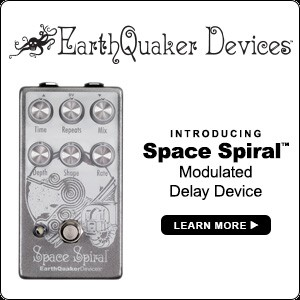 Earth Guaker Devices - Space Spiral - Modulated Delay Device
